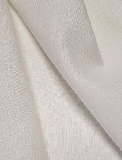 Softed Semi-Bleached Linen fabric