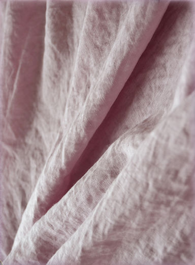 Linen fabric Old Rose