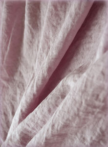 Old rose linen fabric