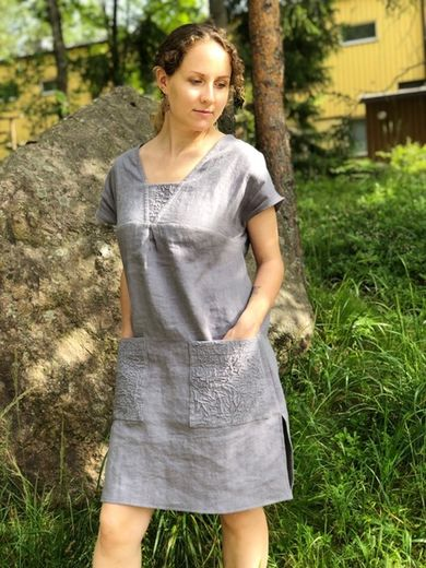 100% Natural Linen tunic Josefina
