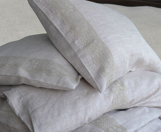 Copy of 100% Natural Linen Duvet Cover Set Rauma