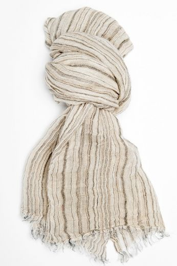 100% Natural Linen Scarf