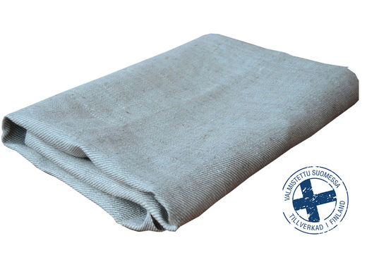 100% Natural Hand Towel, White