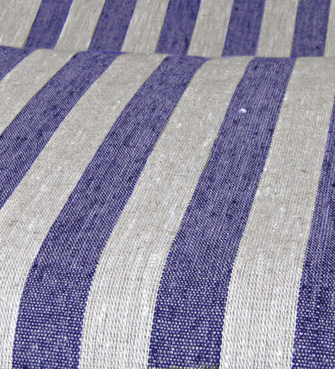 Sauna Seat Cover Fabric, natural/blue
