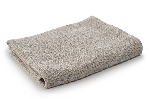 Washed Waffle Hand Towels, Light Gray