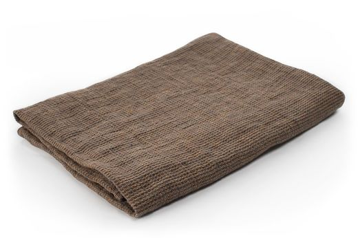 Washed Waffle Hand Towels, brown