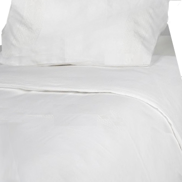 Copy of 100% Natural Linen Duvet Cover Set, White