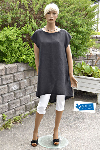 Copy of 100% Natural Linen tunic Stephanie