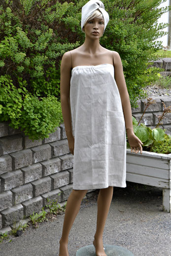 Women's Bath Wrap Towel with Pocket