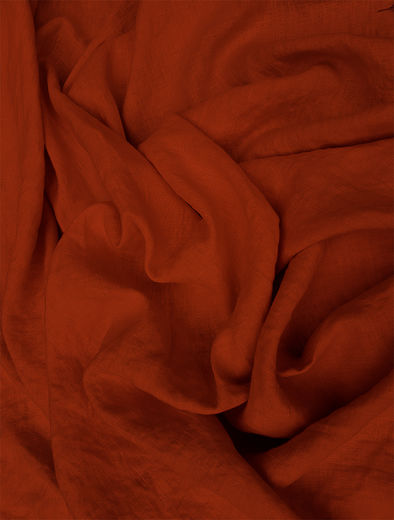 Stone Washed 100% Linen Fabric SW1301, maroon