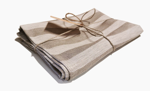 Copy of Copy of 100% Natural Hand Towel, White