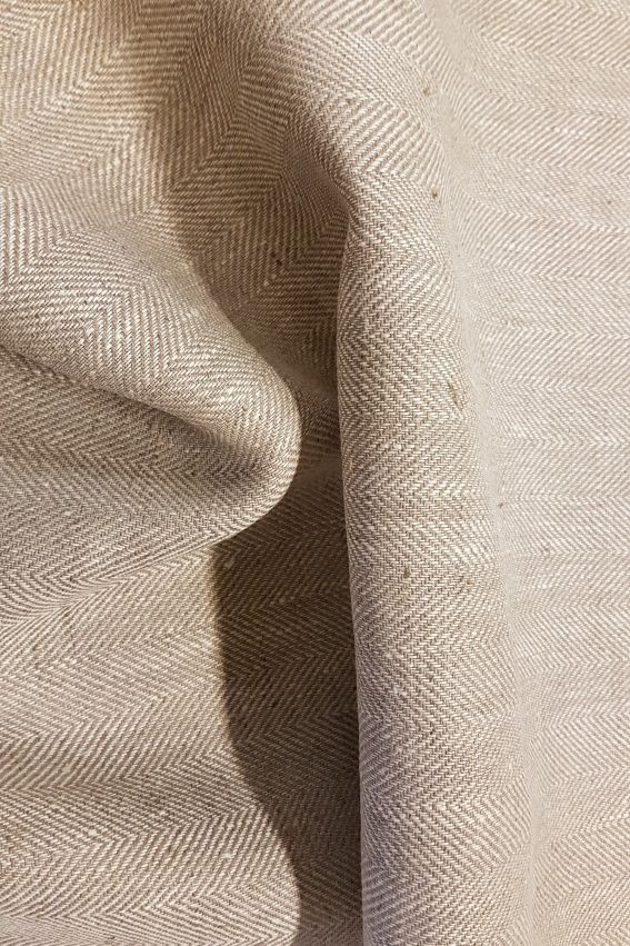 Natural Linen Fabric Pp1460 Finkonia Linenshop