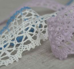 100% Linen Lace Trim PEP838