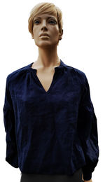 100% Natural Linen  blouse Laura