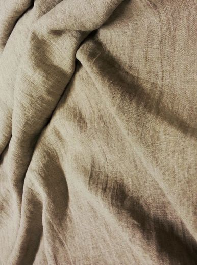 Natural stonewashed linen fabric SW1259