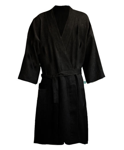 Copy of Copy of Stonewashed  Naural Linen Bathrobe
