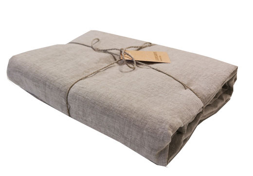 Washed 100% linen Sheet, Natural