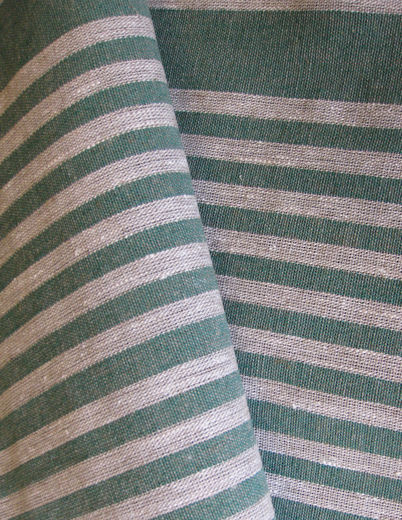 Sauna Seat Cover Fabric, natural/green