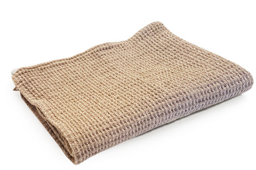 Washed Waffle Hand Towels, Natural
