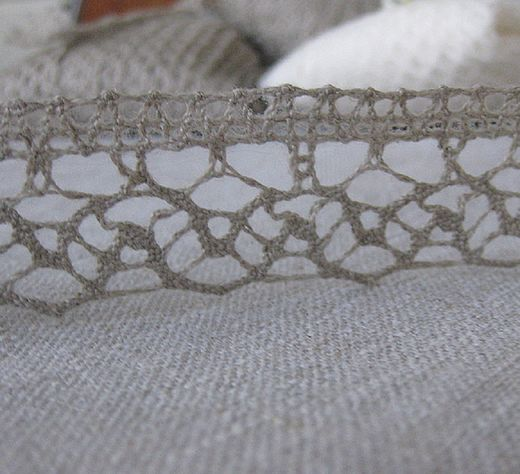100% Linen Lace Trim PEP845