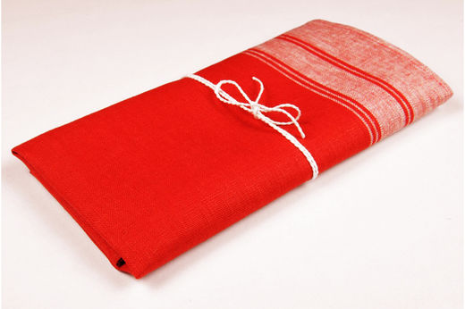 Hand towel Natura, Red