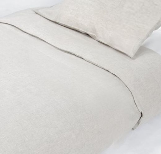 100% Natural Linen Duvet Cover Set