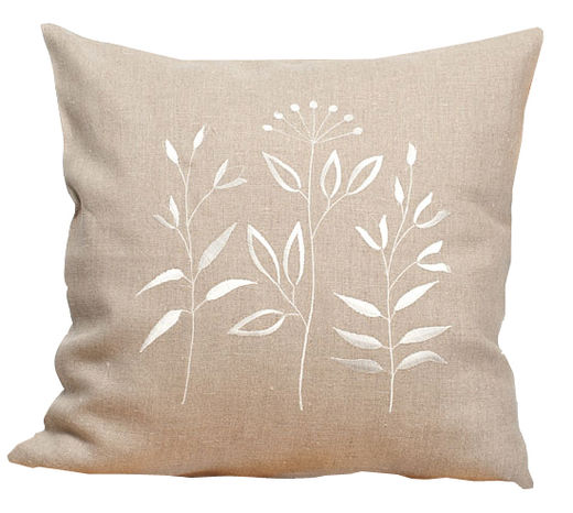 100% Natural linen Decorative pillow Case, Natural color