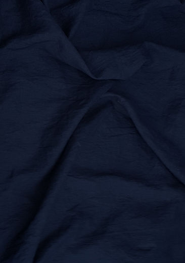 100% linen fabric with stone washed finish, Dark blue